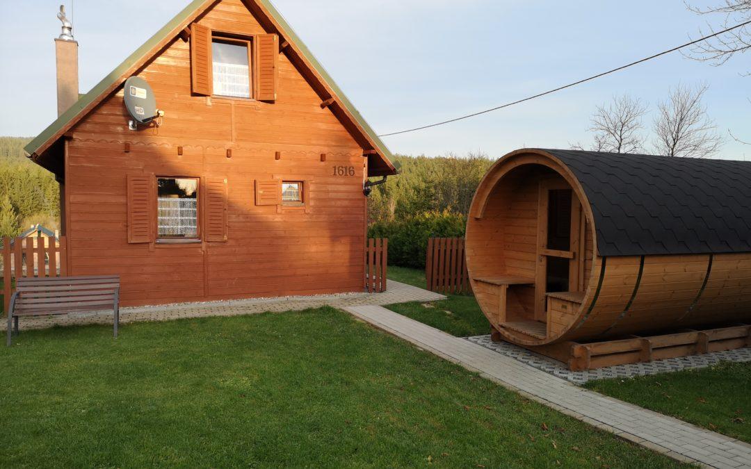 Sauna – strefa relaksu